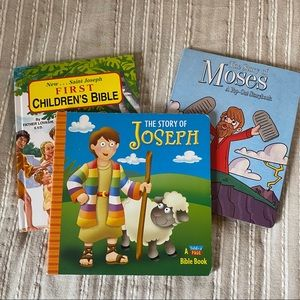 Children's Christian Books and First Bible
